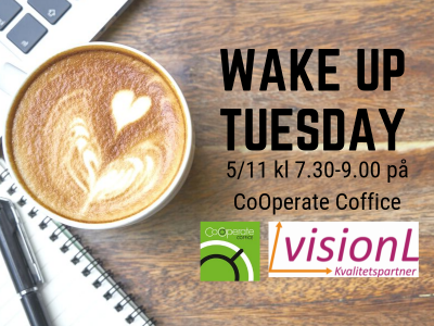 WAKE UP TUESDAY FRUKOST med VisionL