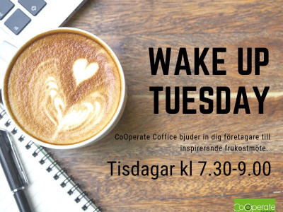 "DIGITAL WAKE UP TUESDAY  -Workshop med Stadskäreneföreningen  och ""Framtiden och trender i handeln"""
